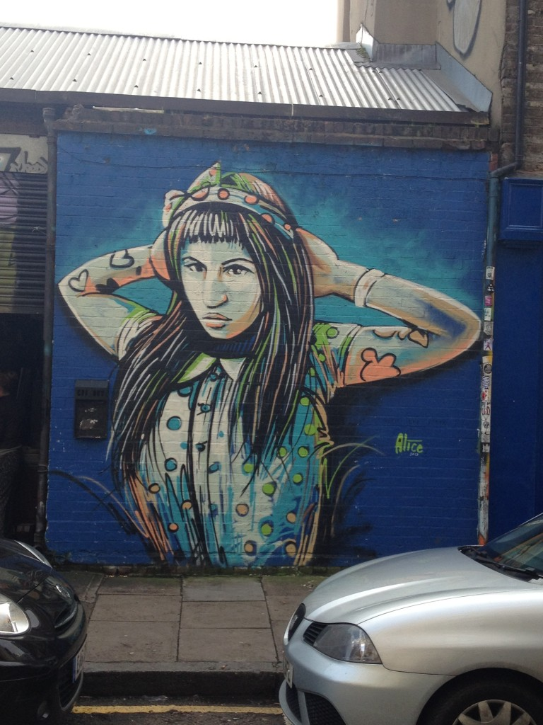 shoreditch - du street art dans les rues de Londres