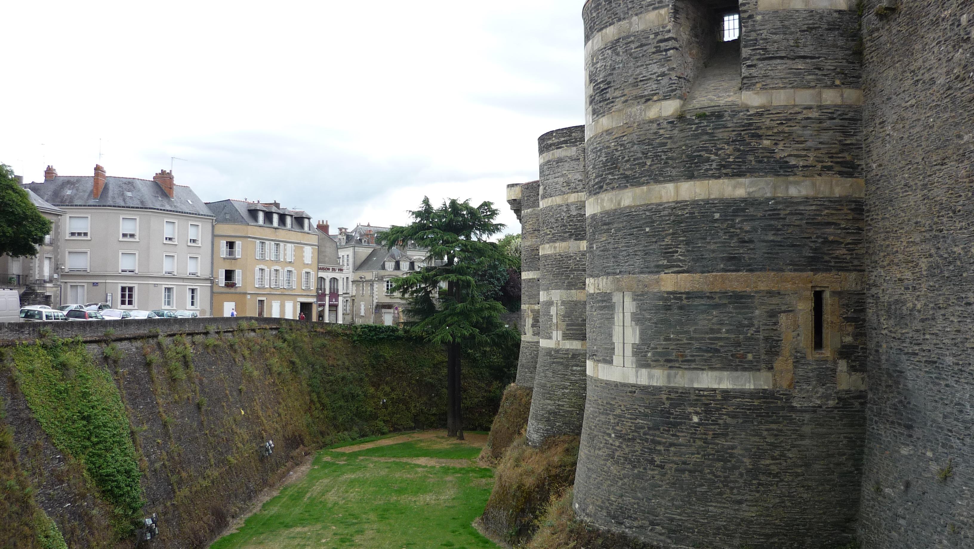 visiter le château d'Angers