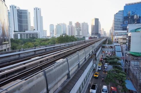 Bangkok vue de la ville