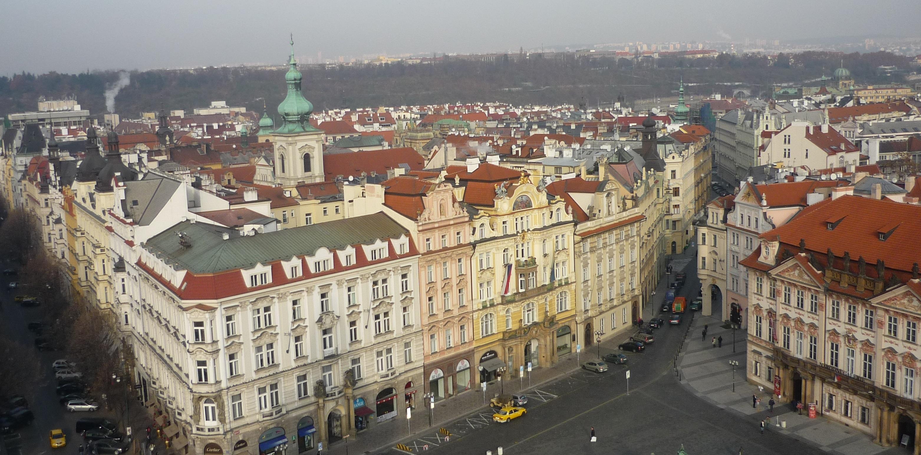 centre-ville de Prague