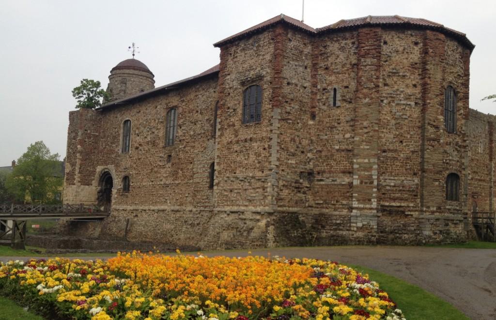 forteresse normande castel park colchester
