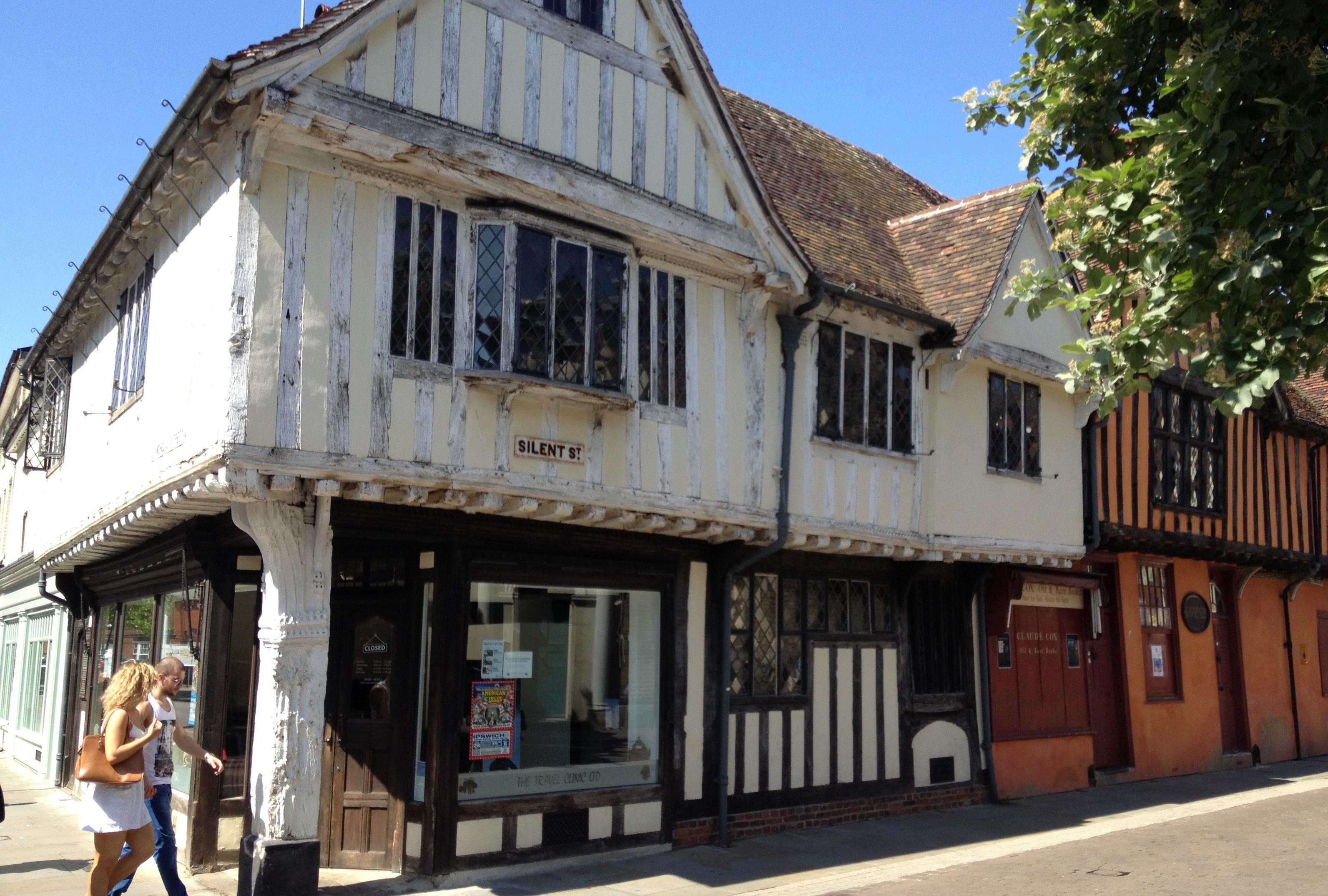 visiter la vieille ville d'Ipswich