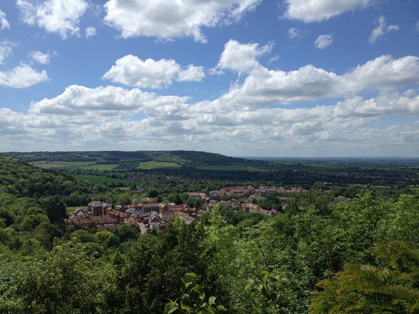 vue panoramique sur wendover