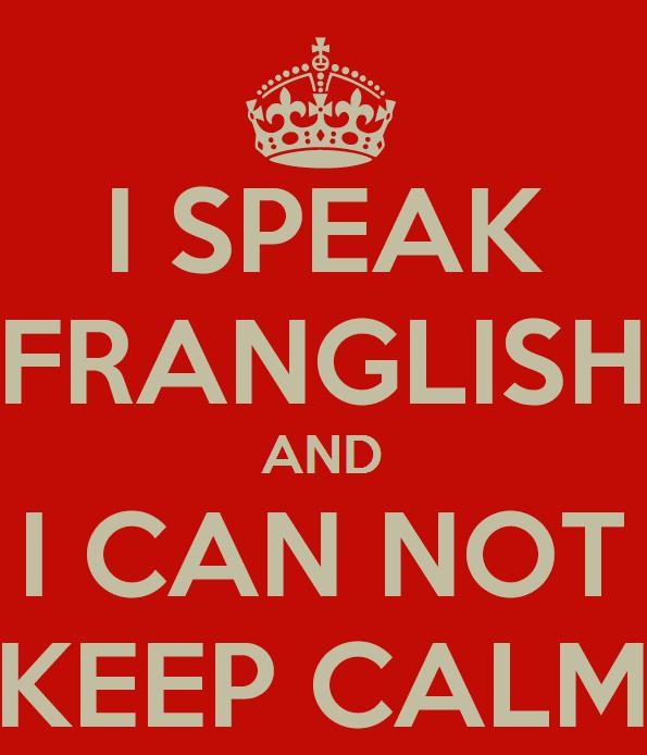 parler franglish
