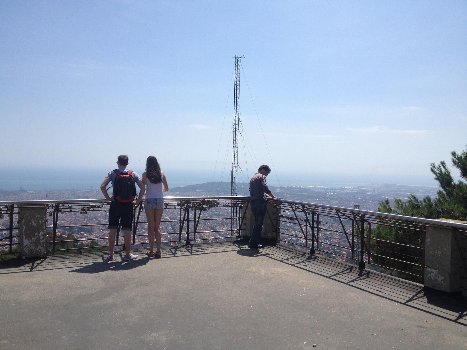 panorama mont tibidabo