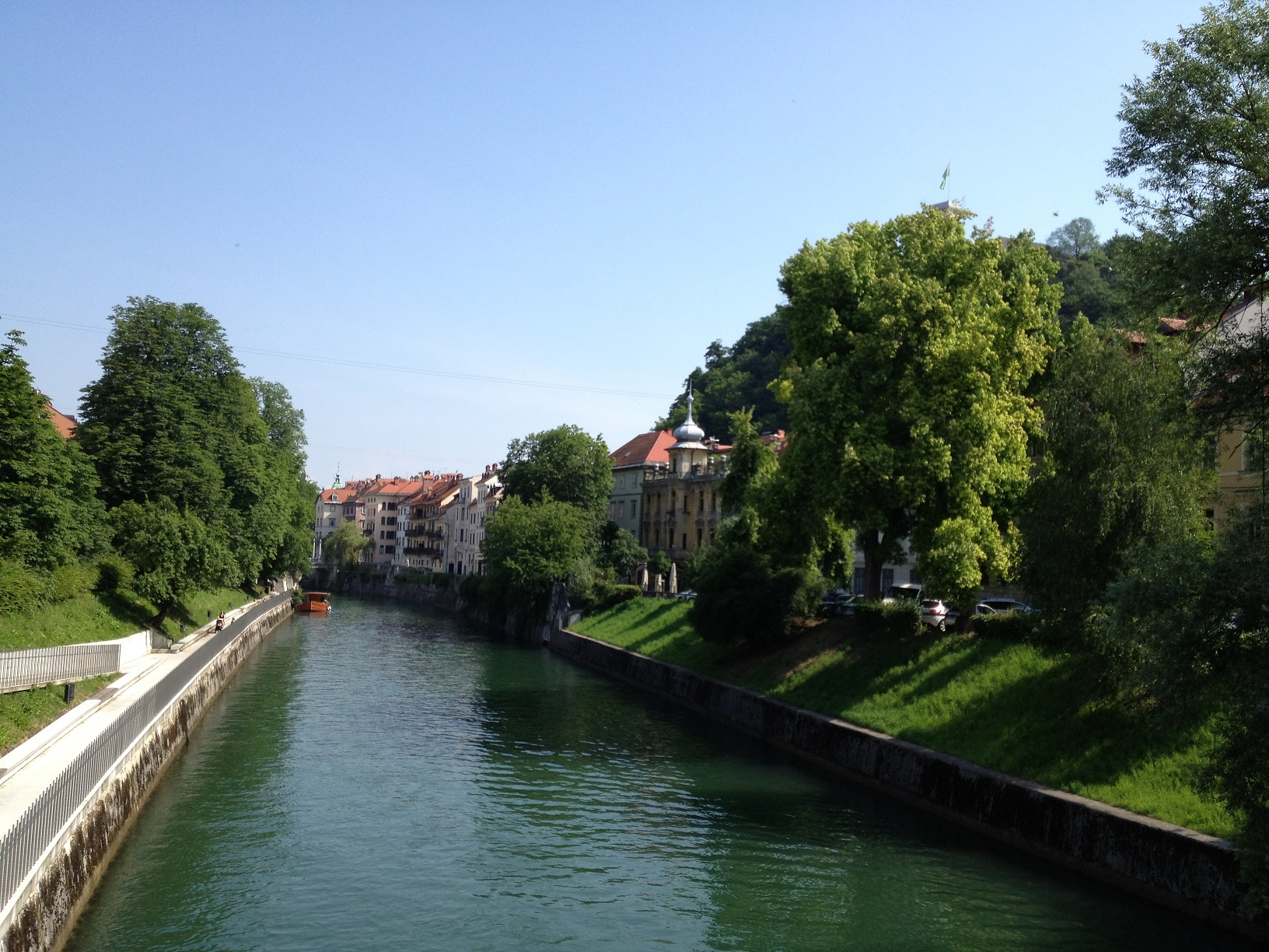 bord riviere ljubljana