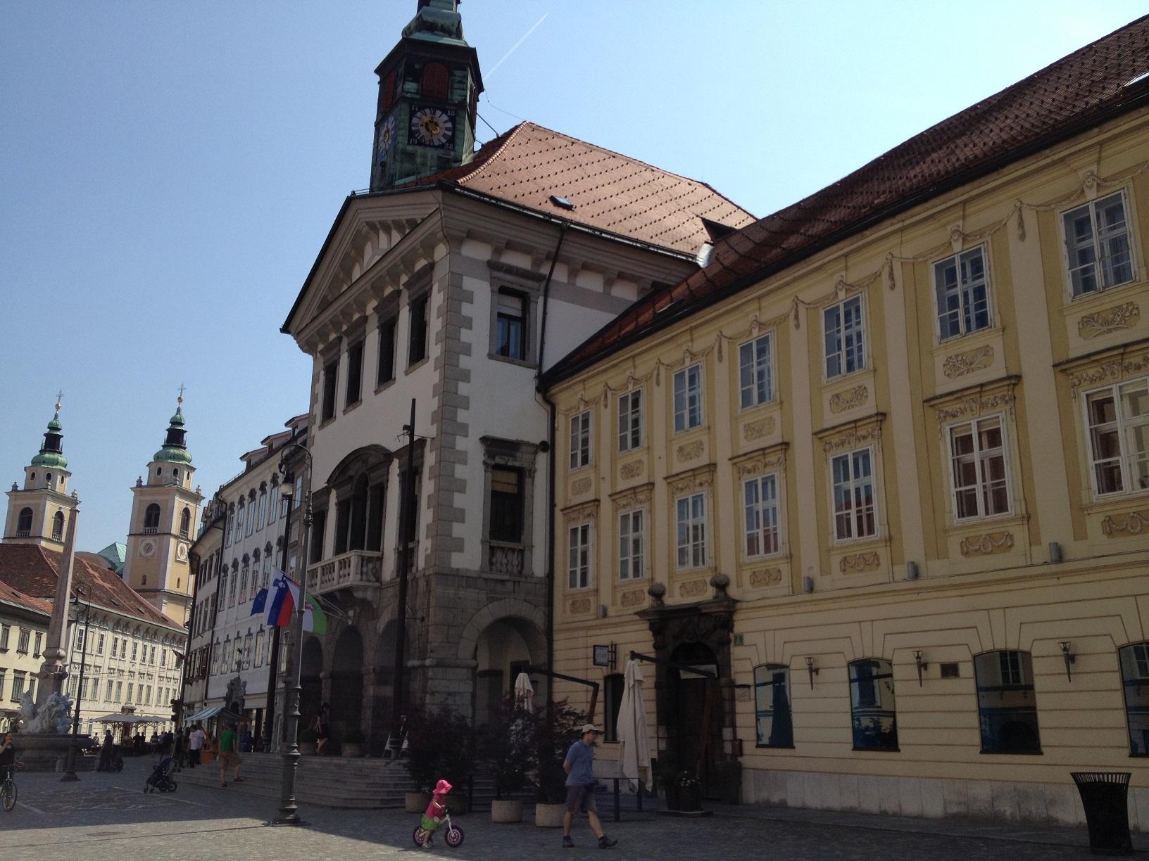 centre ville ljubljana