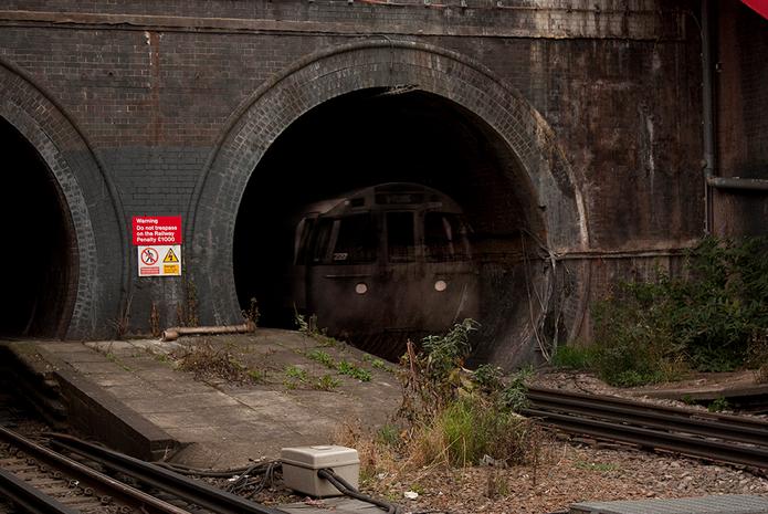 train fantome bakerloo line