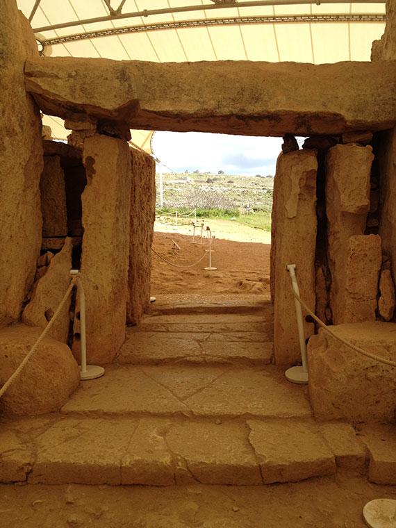 Għar-Dalam-et-Ħaġar-Qim-vue