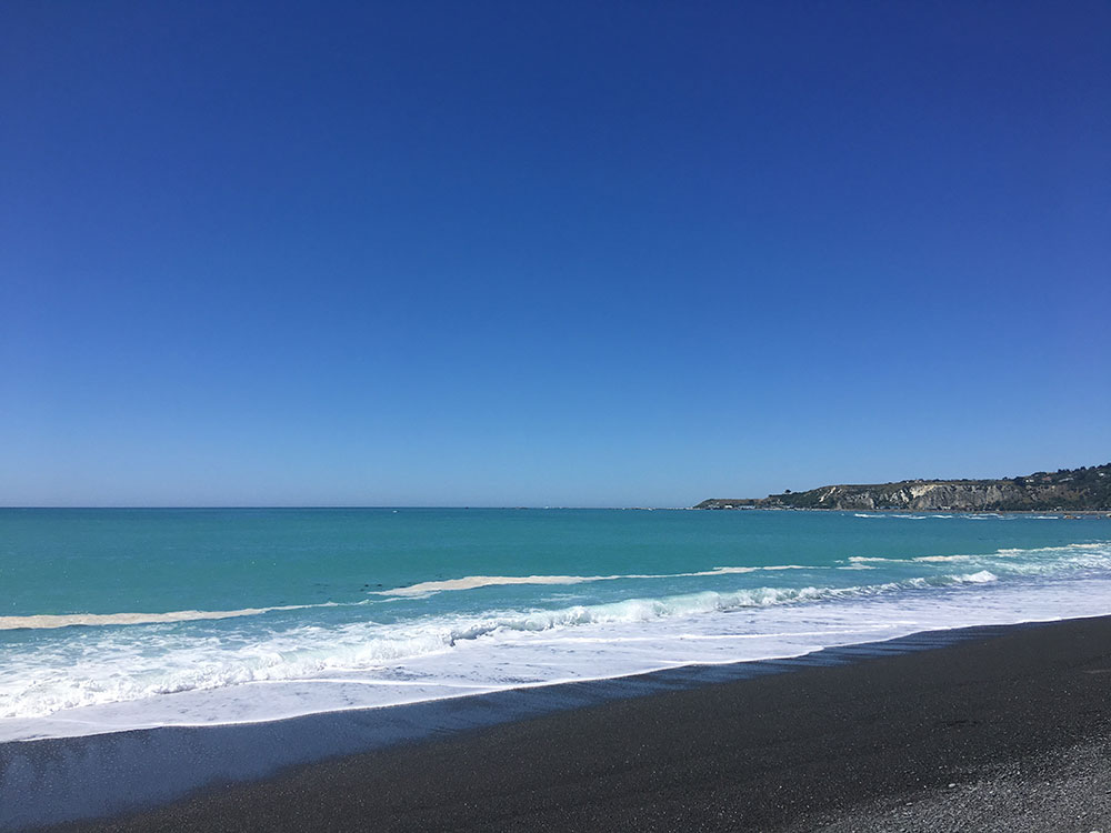 kaikoura-plage